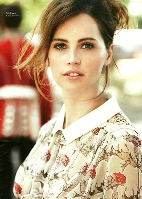 Felicity Jones as Anna