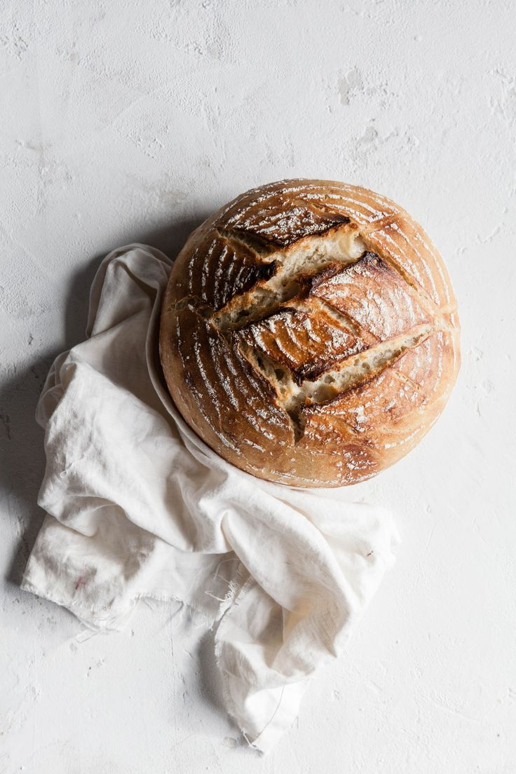 Spelt Sourdough Bread / Photography and Styling by Sanda Vuckovic