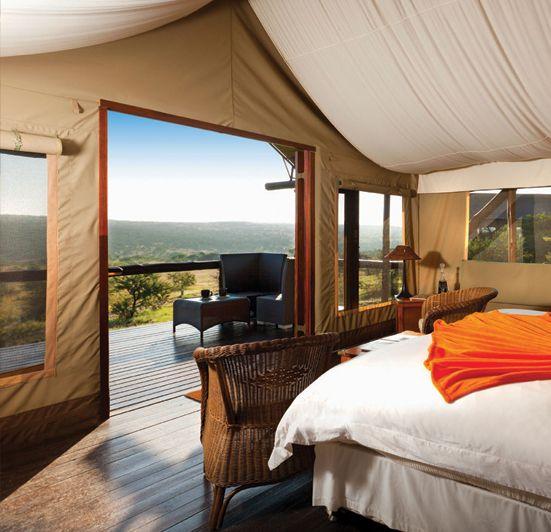 Springbok Luxury Tent Interior
