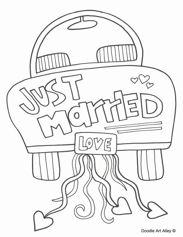 Wedding Coloring Books For Kids Unique Wedding Coloring Pages Doodle Art Alley Wedding Coloring Pages Free Wedding Printables Kids Table Wedding