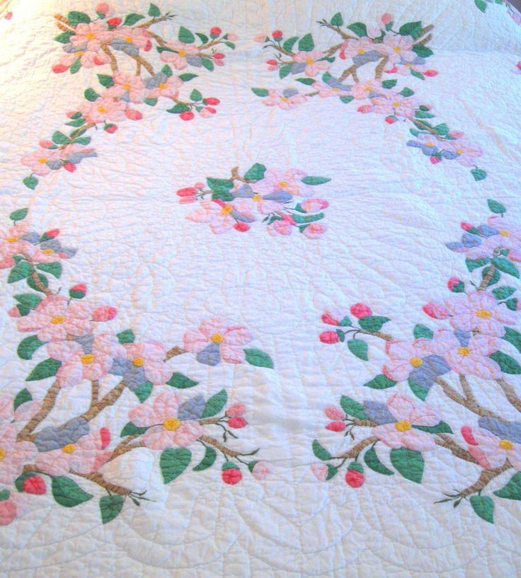47 Best Quilt Dogwood Images on Pinterest Quilt Block Patterns