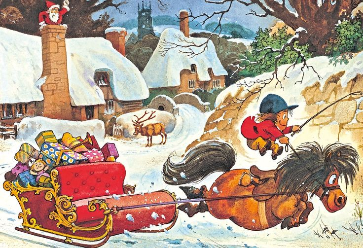 Gibsons A Thelwell Christmas Puzzle (500Stk): Amazon.de: Spielzeug