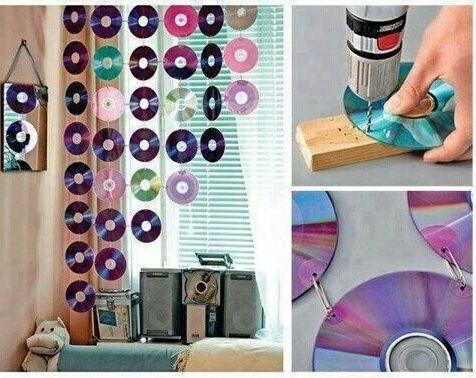 Immagine di diy, cd, and room