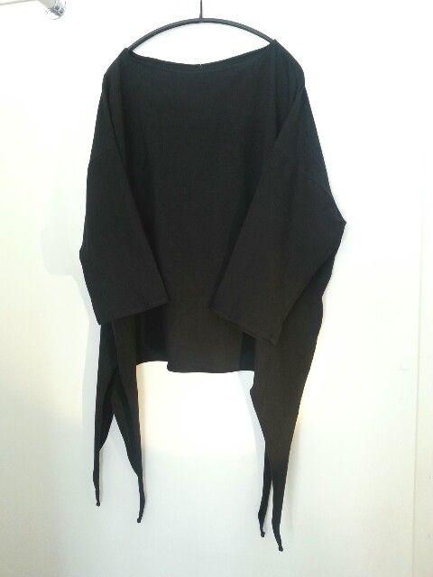 MODC black tricot top.