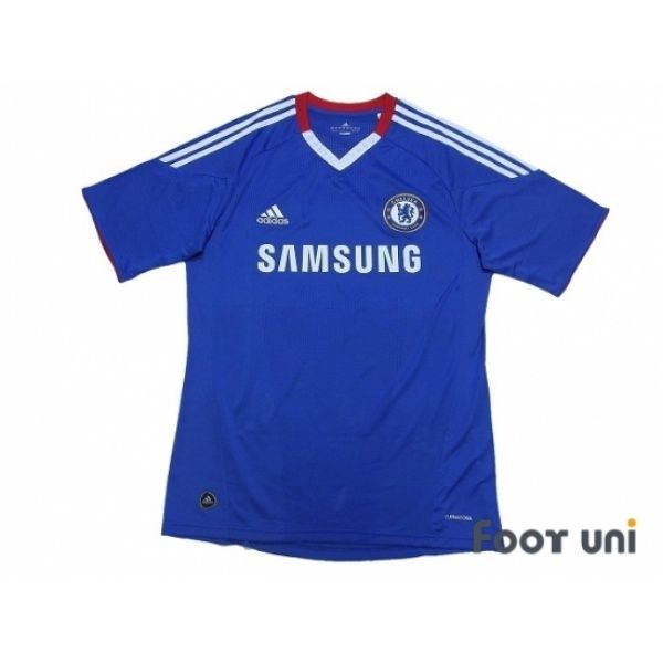 Photo1: Chelsea 2010-2011 Home Shirt #adidas #chelsea - Football Shirts,Soccer Jerseys,Vintage Classic Retro - Online Store From Footuni Japan