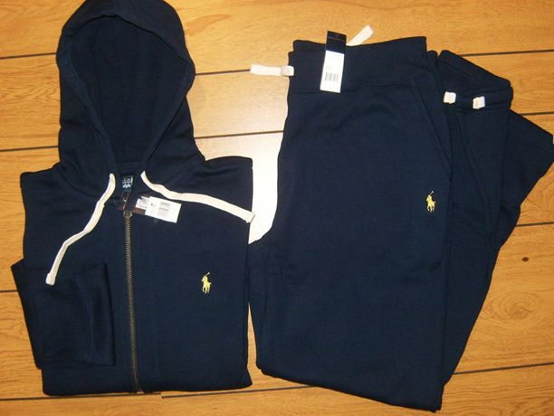 Ralph Lauren polo sweat suit | Rick Ross Wearing Polo Ralph Lauren Navy Sweatsuit & Jordan 3 True ...