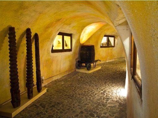 VISIT GREECE  The Wine Museum #Santorini #cyclades #museums #art #culture