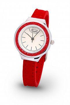 Красные часы co Swarovski Elements  от Miestilo     #часы #мода #красныйцвет #бижутерия #украшения #swarovski
