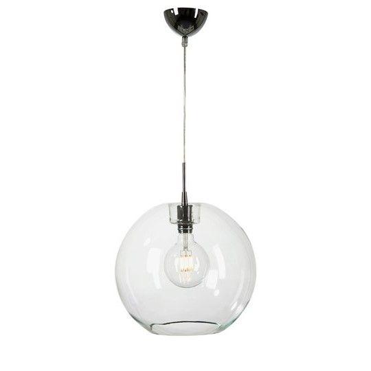 T1074 Gloria taklampa från Belid Material: Metall/Glas Mått: Ø 38cm - H 35,1cm Ljuskälla: Max 240V 60WE27, ingår ej Krokupphäng, Transparant sladd 1,5m ENERGIKLASS: A-E