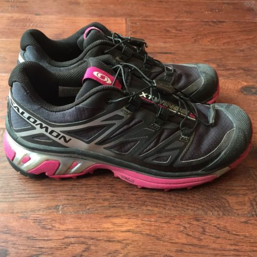 the best attitude 75aef 8a0f4 Women s Salomon XT Wings 3 Trail Running Shoes Size 6 ...