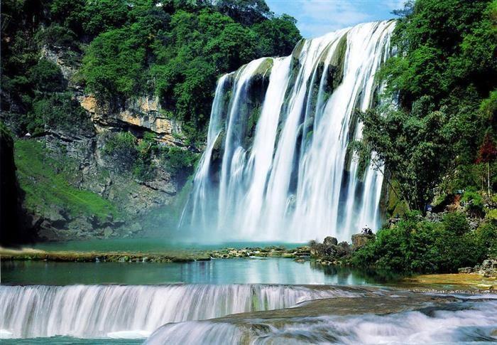 Cascadas y cataratasCascada Huangguoshu, China