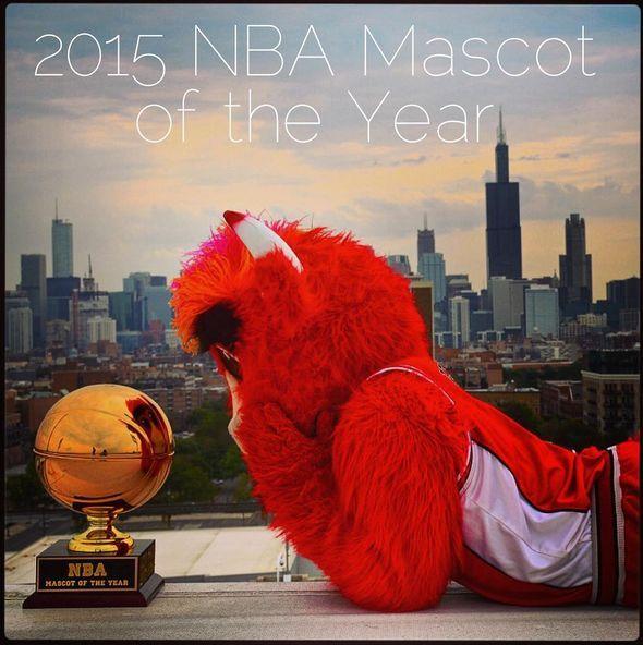 2015 NBA Mascot of the Year |  Benny the Bull