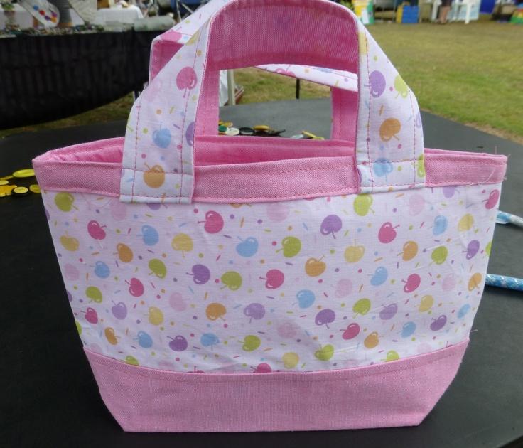 little girls bag i made .