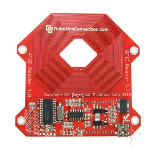 RedBee RFID Reader v1.0 by Robotics. $39.95. The RoboticsConnection RedBee RFID Reader is a sophisticated reader, featuring an XBee and USB interface, that can work in standalone or Networked BPAN (Broadcast Personal Area Network) mode.  The RedBee RFID reader is designed to work with all EM41xx family 125kHz RFID tags including cards, buttons, capsules, disks, key fobs, and others.