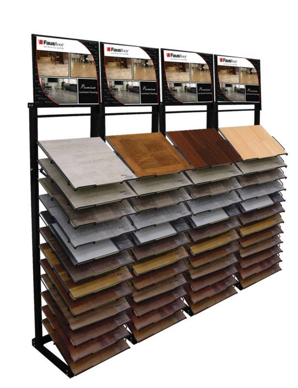 64 best stone tiles display rack images on pinterest for Laminate flooring displays