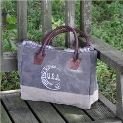 USA Canvas Handbag