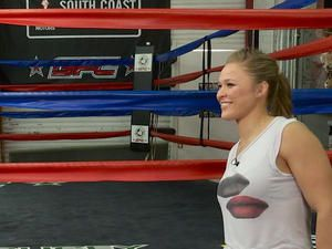 UFC fighter Ronda Rousey on MMA, family and crushing armbar move - CBS News