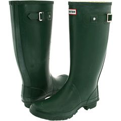 hunter huntress boots- they actually fit around my leg, unlike the original- wish they were available in yellow, though!