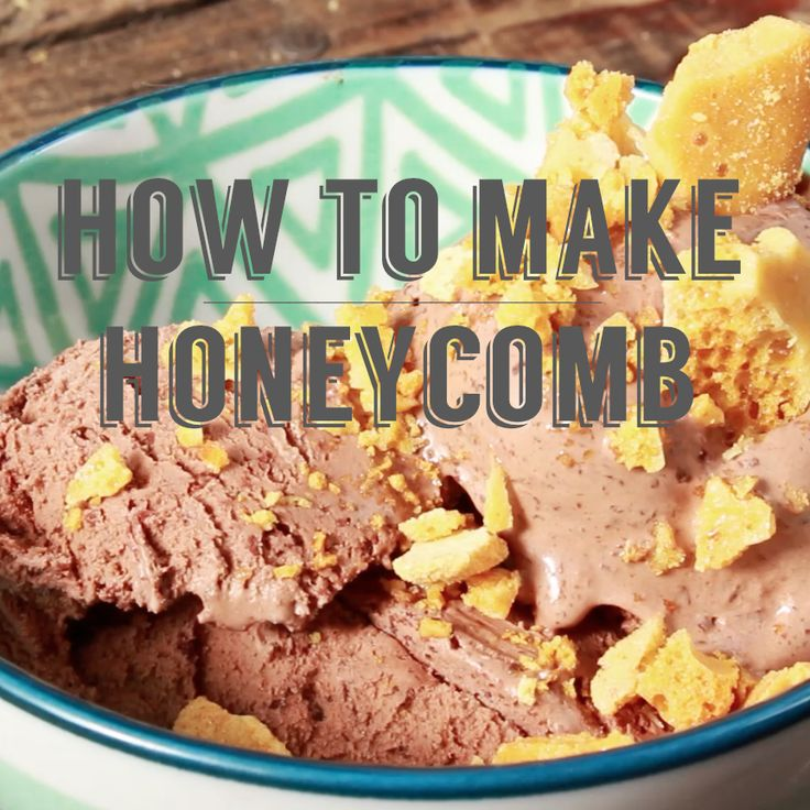 How to make honeycomb at home  perfect for sprinkling over ice cream!