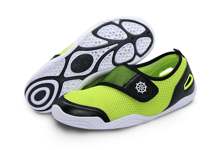 Ballop Unisex Barefoot Water Aqua Shoes BL Fit Green Beach Swimming Surfing Pool #Ballop #WaterShoes