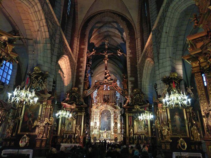 Bazylika Bożego Ciała. Kraków. Basilica of Corpus Christi in Kraków, Poland.