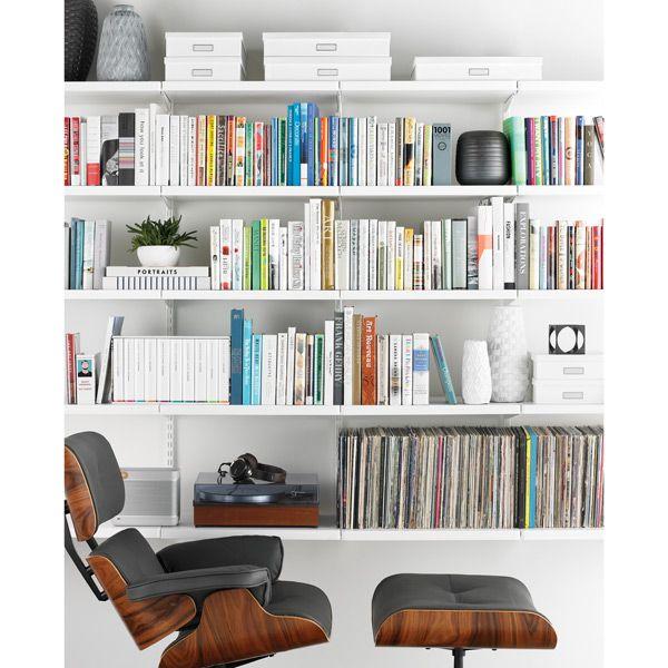 White elfa décor Library | SALE $1,073.42
