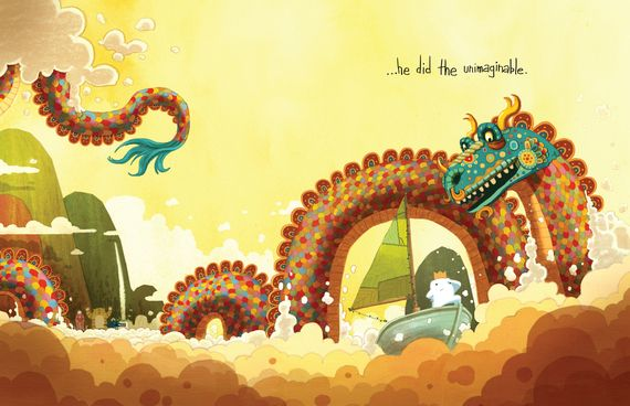 The Adventures of Beekle: The Unimaginary Friend by Dan Santat - This children's book is just lovely, a real treasure.