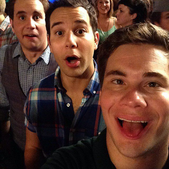Ben Platt, Skylar Astin, and Adam DeVine