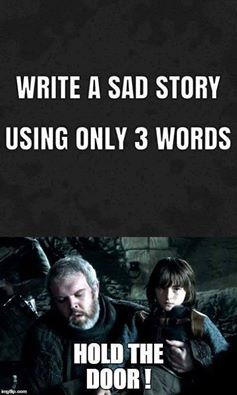 Three Word Sad Story