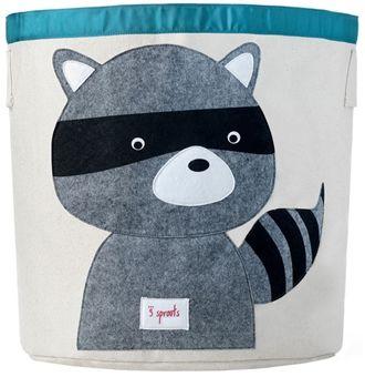 3 Sprouts Förvaringskorg Tvättbjörn | Inredning Förvaring | Jollyroom
