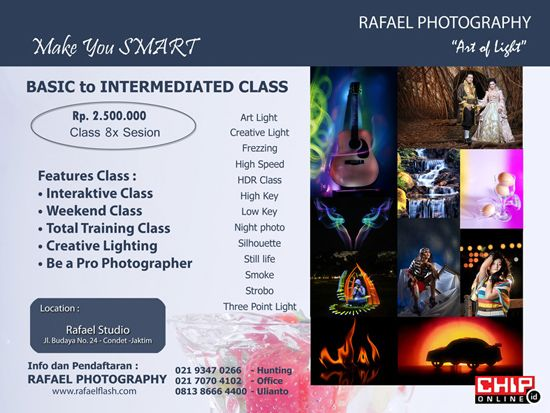 Another photography course from the community..