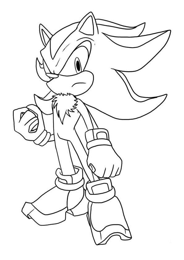 33 best ColoringSonic the Hedgehog images on Pinterest