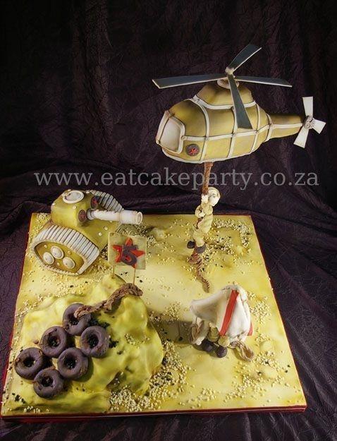 Soldier cake FB