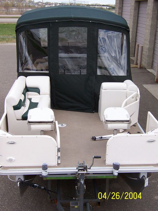 Custom Pontoon Boat Enclosures | Minnesota Pontoon Covers & Enclosures | Canvas Craft
