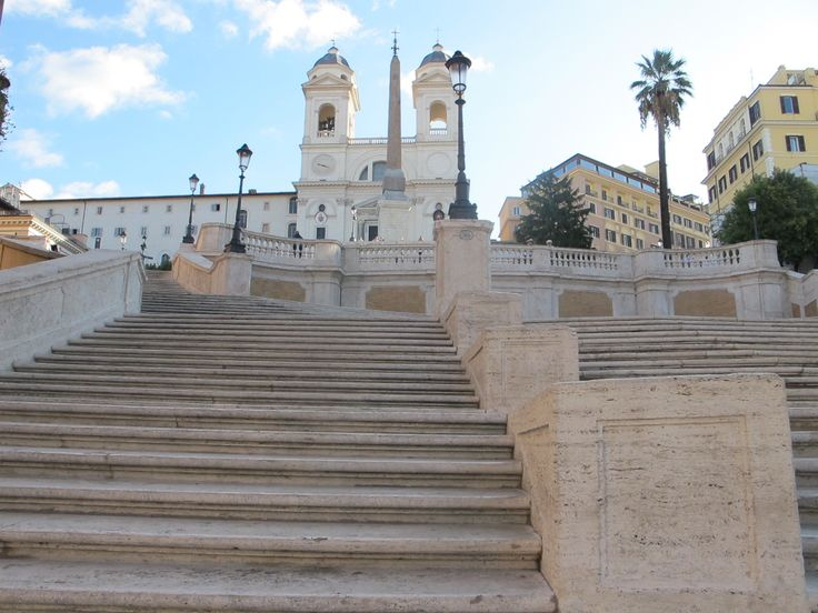 The Spanish Steps, October