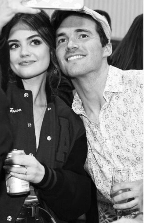 Lucy Hale and Ian Harding - Ezria - PLL