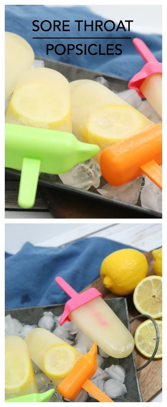 Achy throat? Try these sore throat popsicles
