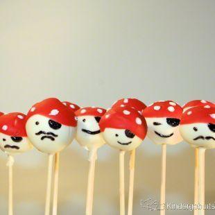 Piraten Cake Pops - Die perfekten Kuchen für eine gelungene Piratenparty