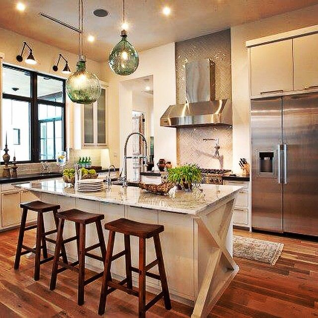 Dream Kitchen Modern: 22 Best Kitchen Islands: Different Color Images On
