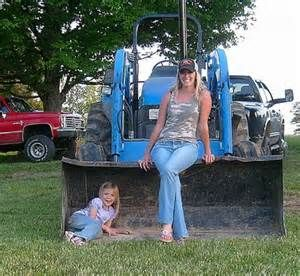 99 best images about Girls with Tractors on Pinterest