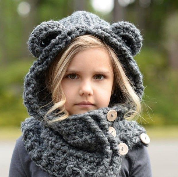inspirativne napady kreativita.info pletene a hackovane kapucne pre deti 7
