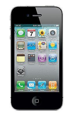 Apple iPhone 4 16GB 3.5Inch Display 5MP iOS 4 Unlocked GSM Phone - Black - New | eBay