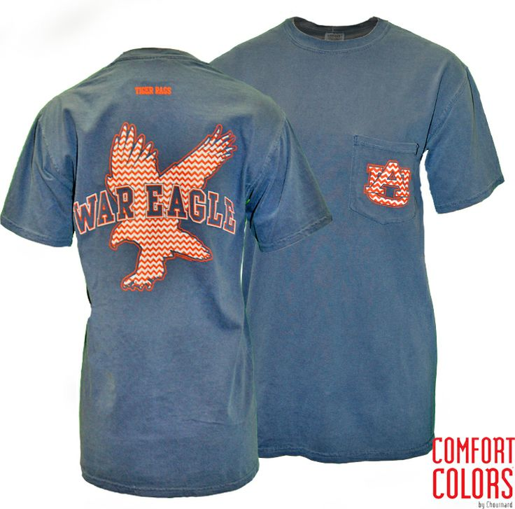 26 best auburn university in comfort colors images on for Auburn war eagle shirt