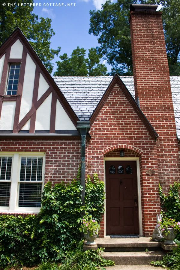The lettered cottage tudor revival cottage home decor - Tudor revival exterior paint colors ...
