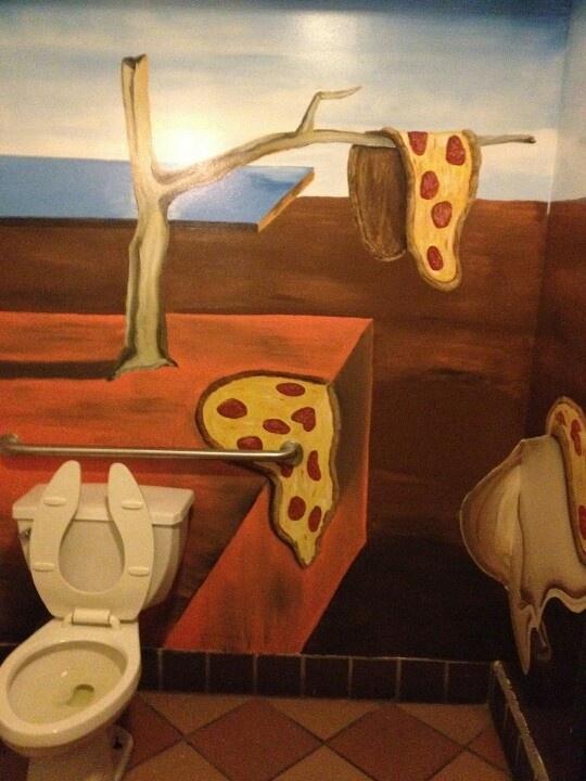 """Salvatore Dali Pizzaria: """"The Persistence of Pepperoni"""""""