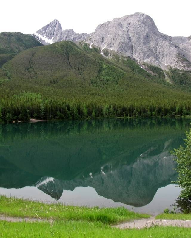 #hiking #ExploreAlberta The Wedge from 10 Great Hikes along Kananaskis Trail, Alberta, Canada.