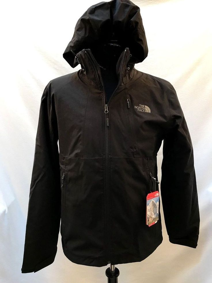 North Face Thermoball Triclimate Jacket Men's M Black Hooded 3 in 1 NEW $299  #TheNorthFace #BasicJacket