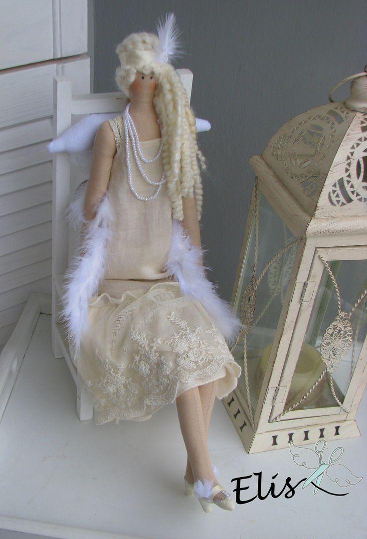 #polandhandmade # https://pl.pinterest.com/ElisSkibicka/elis/#doll #lalka #tilda