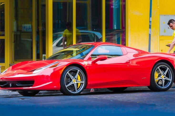 Example youtube post Ferrari California   Ferrari 458 ...