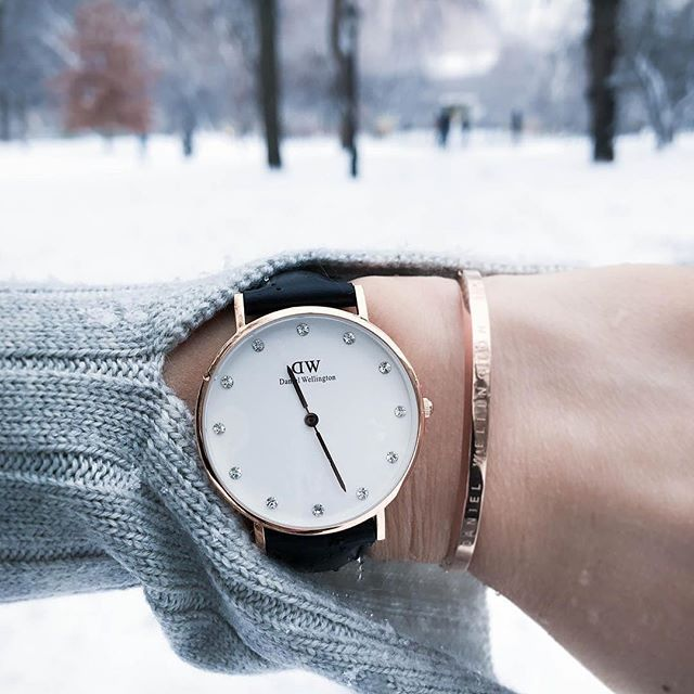 Keeping cool with Daniel Wellington.